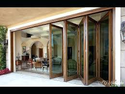 folding glass patio door coolest folding glass patio doors with screens in brilliant small house decorating