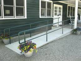 how to build a ramp over stairs ramp types their costs build wheelchair ramp over stairs