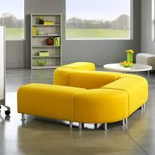 modern office lounge furniture. Yellow Alight Corner Bench   Modern Office Furniture Poppin: Placement? Modern Office Lounge Furniture F