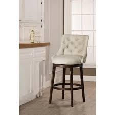 swivel bar chairs.  Chairs Hillsdale Furniture Halbrooke Tufted Smoke Fabric Swivel Bar Stool In Chairs B