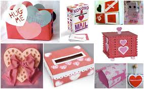 How To Decorate A Valentine Box Valentine's Day Mailboxes Gift Holidays and Craft 22