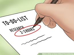 how to write an essay out procrastinating steps image titled write an essay out procrastinating step 3