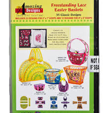 Free Standing Lace Easter Designs Amazon Com Amazing Designs Freestanding Lace Easter Baskets