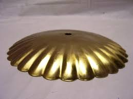 brass fluted tray
