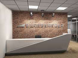 office counter designs. 3 6meter Long Modern Design Grey White Lacquer Reception Desk Table Inside Receptionist Desks Inspirations 9 Office Counter Designs