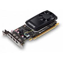 Профессиональная <b>видеокарта nVidia Quadro P1000</b> Dell PCI-E ...