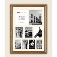 ptm images 9 opening 23 1 2 in x 27 1 2 in multi sized white matted photo collage frame 8 0523 the home depot