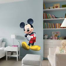 disney wallpaper for bedrooms. mickey mouse clubhouse fathead disney wallpaper for bedrooms