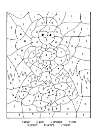 5th Grade Coloring Sheets Math Fun Multiplication Page Pages Free