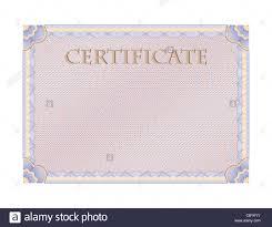 Bastidor Labrada En Blanco Con Carta De Certificado En El Centro