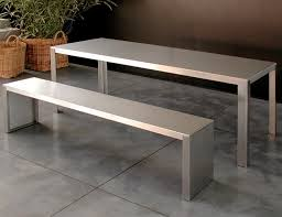stainless steel benches. Contemporary Bench / Stainless Steel Benches B