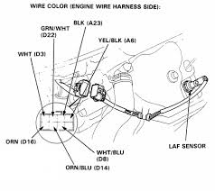 92 00 honda acura engine wiring, sensor & connector guide honda Wiring Harness Connectors at Wiring Harness For 95 Civic