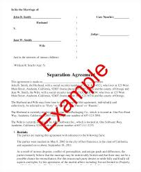 Unique Marriage Contract Template Picture Collection - Resume ...
