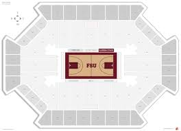 Fsu Civic Center Seating Chart Tucker Center Florida State Seating Guide Rateyourseats Com