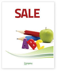 Start Education Sale Poster Template In Microsoft Word Publisher