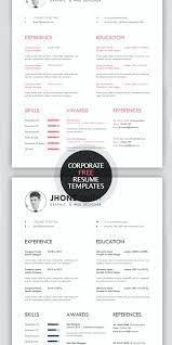 Free Creative Resume Templates Free Cool Resume Templates Unique