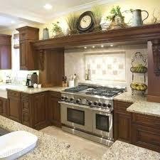 Above Kitchen Cabinet Decorations Best Ideas