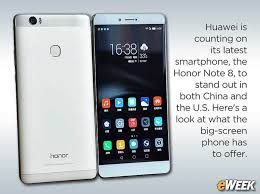 huawei honor note 8. honor note 8 aims to make big impression in global smartphone market huawei