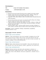 Statistical Programmer Sample Resume Inspiration Resume SAS Programmer 48 Years Exp