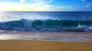 beach. Beautiful Beach Ocean Waves Relaxation 10 Hours  Soothing Crashing On Beach White  Noise For Sleep  YouTube Throughout