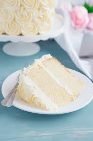 Best Ever Vanilla Bean White Cake The Busy Baker