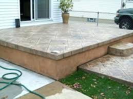 raised concrete deck raised concrete patio best patio images on decks backyard ideas and balconies raised raised concrete