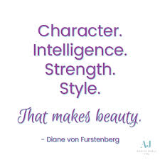 Quotes About Confidence And Beauty Best of Character Intelligence Strength Style That Makes Beauty Quotes