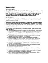 director job description literacy works development director job description 2017 1