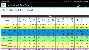 65 True Kids Shose Size Chart
