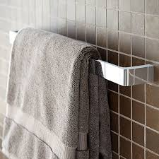 towel bar with towel. Simple Towel Rem 24 Inch Towel Bar Intended With