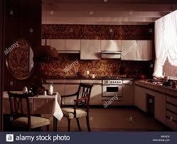 furnishing kitchen 1970s 70s historic historical furniture decoration table oven kitchen furniture names51 furniture