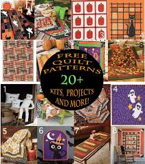 The 25+ best Halloween quilt kits ideas on Pinterest | Halloween ... & 20 Halloween Quilts Patterns -- Looking for Halloween quilts? We've got you Adamdwight.com