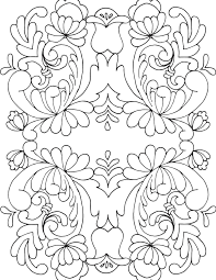 Rosemaling Coloring Book1 Paper Art Color Coloring Pages Adult