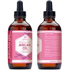 amazon argan oil by leven rose 100 pure organic virgin cold pressed moroccan anti aging acne treatment moisturizer for hair skin nails 4 oz