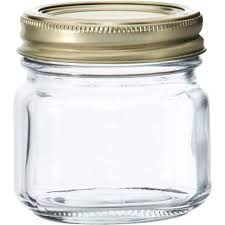 Anchor Hocking Half-Pint Glass Canning Jar Set, 12pk