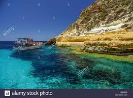 Italy Sicily Lampedusa Island South Coast Stock Photo 174959500