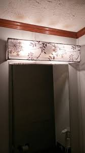 best 10 bathroom light bar ideas on pinterest vanity light Residential Wiring Bathroom Light Fixture diy vanity light shade dowel rods and a curtain sheer hot glued and hung over existing vanity light bar with picture wire really wish this linked to Bathroom Light Bar Wiring