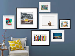 How To Create An Art Gallery Wall  HGTVWall Picture Frames For Living Room