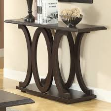 Image of: Modern Foyer Table Style