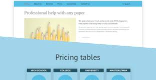 essay writer website template the theme was created for content writing companies light grey and bluish tones prevail over its layout call to action buttons are placed right at the