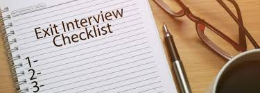 Employee Exit Interview Checklist Exit Interview Questions Hiring Workable