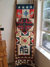 137 best Quilt ladders images on Pinterest | Projects, Workshop ... & on a ladder Adamdwight.com