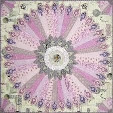 fan quilt pattern. antiquities medallion quilt, 43\ fan quilt pattern e