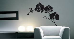 orchid wall decals on orchid vinyl wall art with orchid wall decals dezign with a z