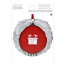 angel wings round frame ornament by studio parlane photo glitter angel wings frame