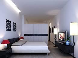 Bedroom: Minimalist Bedroom Inspirational Elegant White Wardrobe In Modern Minimalist  Bedroom Interior Design - Minimalist