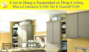 how much does a drop ceiling cost photo suspended drywall ceiling cost of how much does a hanging ceiling cost that suspended ceiling suspended ceiling cost