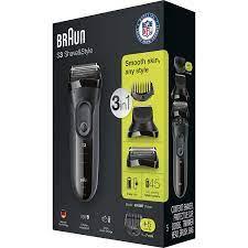 Máy cạo râu Braun Series 3 Shave&Style 3000BT - Hitech USA