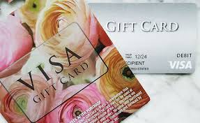 visa gift card from grocery