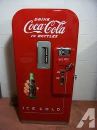 Coin Operated Vending Machines For Sale Magnificent 48's Antique Coke Vendo V48 CocaCola Soda CoinOp Vending